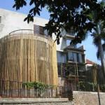 Desain Rumah Minimalis dari Bambu