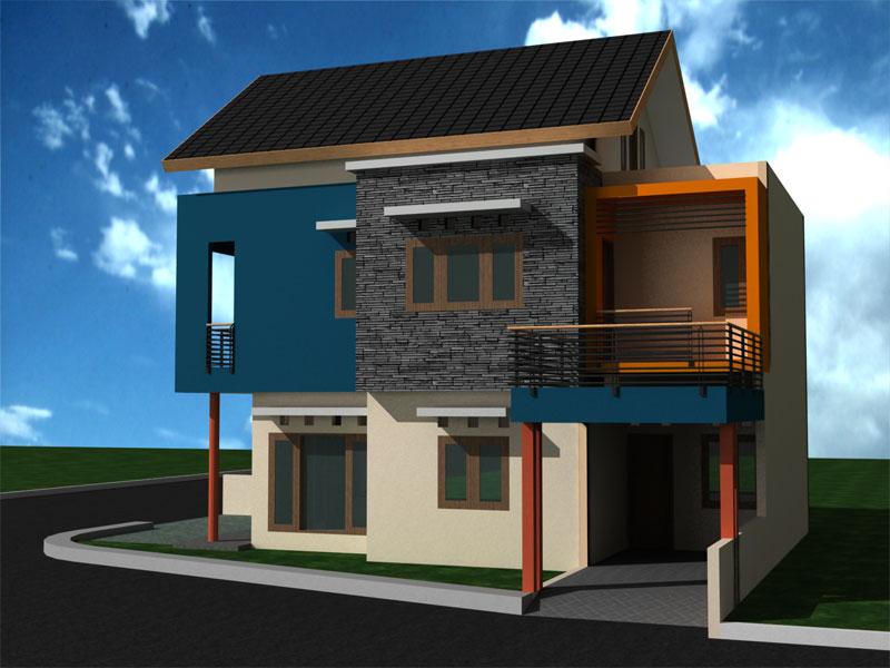 Karakter Model Rumah Minimalis Modern