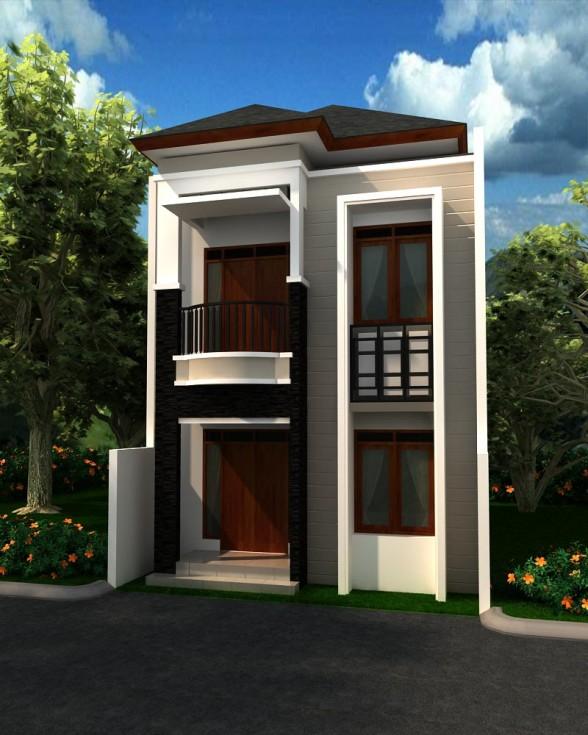 ... rumah dua lantai ternyata belum tahu bentuk dan model rumah yang