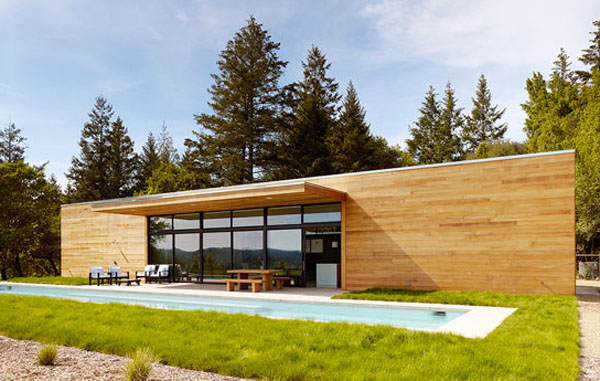 Desain Rumah Minimalis Green House Forest by Dowling Kimm