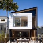Desain Rumah Minimalis Milner Schmukler by Tribe Studio Architects