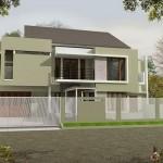 Desain Rumah Minimalis Modern Di Bintaro