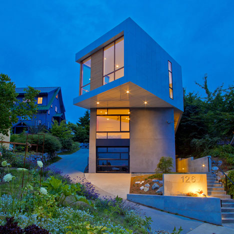 Desain Rumah Minimalis Untuk Lahan Yang Sempit
