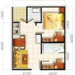 Membuat Denah Rumah Minimalis Tipe 36