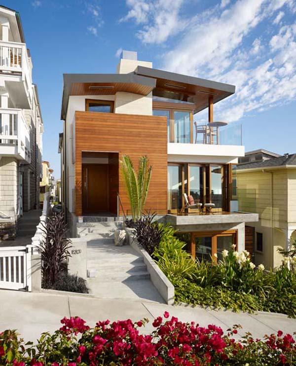 Rumah Kayu Minimalis Dengan Modern Architecture