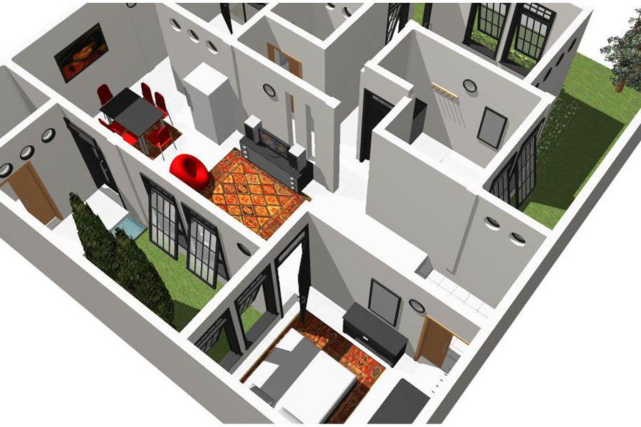 Desain Rumah Sederhana Untuk Keluarga Kecil Anda