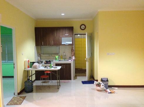 renovasi ruang makan-terato