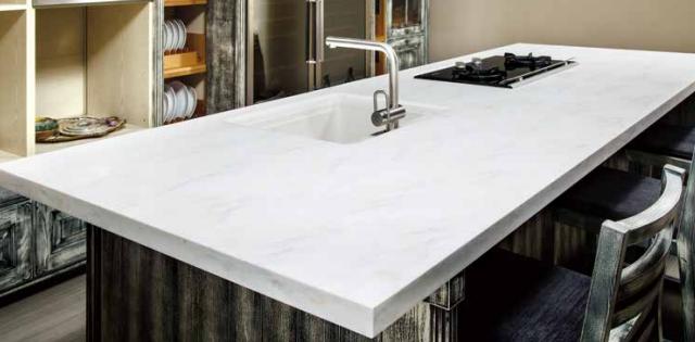 solid surface untuk island dapur