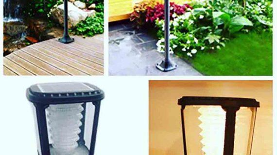 Lengkapi Exterior Rumah Anda Dengan Lampu Taman Solar Cell