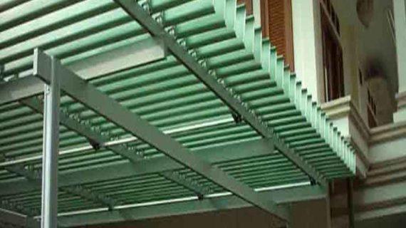 Hunian Lebih Menarik Dengan Atap Buka Tutup Sunlouvre